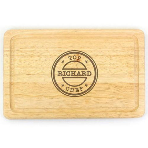 Top Chef Personalised Chopping Board