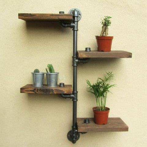 Cast Iron Shelving Unit