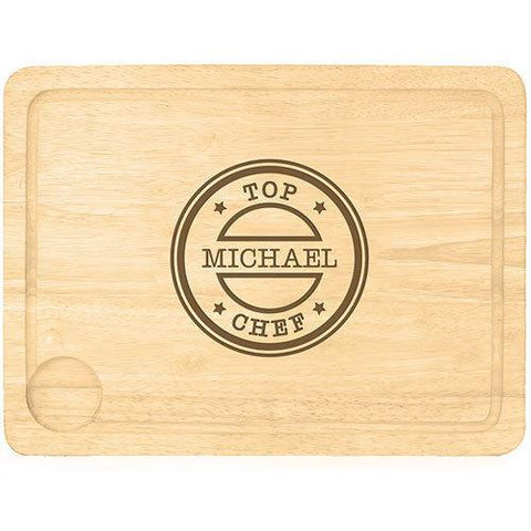 Top Chef Personalised Carving Board