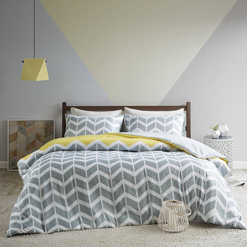 Chevron Pattern Duvet Set