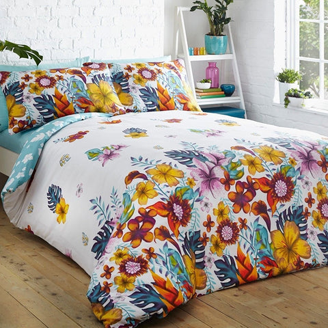 Flowered Duvet Set
