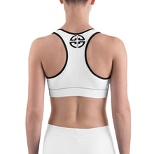 Load image into Gallery viewer, Get Gains or Get Gone | Sports Bra