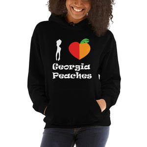 I Love Georgia Peaches | Hoodie