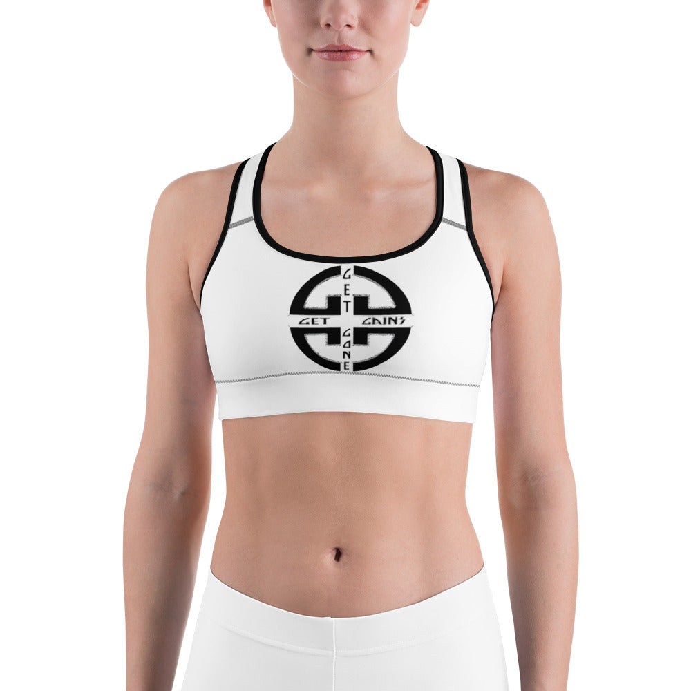 Get Gains or Get Gone | Sports Bra