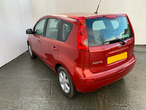 Nissan Note 1.4 Red 5d 2008 GLASGOW