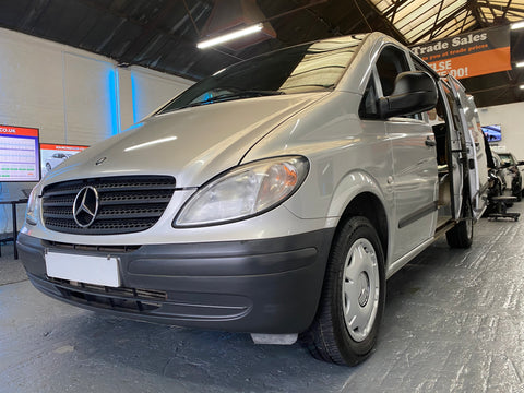 Valet & Vehicle check business for sale Mercedes-Benz Vito 2.1 Silver Diesel
