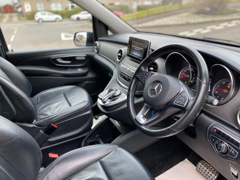 Mercedes-Benz V220 2.2 Diesel 8 Seater Automatic 2015 GLASGOW