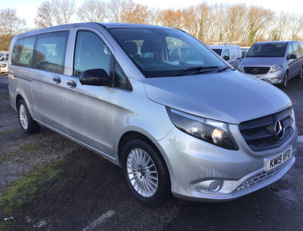 Mercedes-Benz Vito Tourer 119 2.1 X-Long Select 7G Silver 2019
