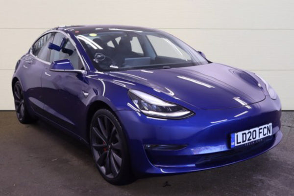 Tesla Model 3 0 Performance AWD (UPGRADE) Blue 2020
