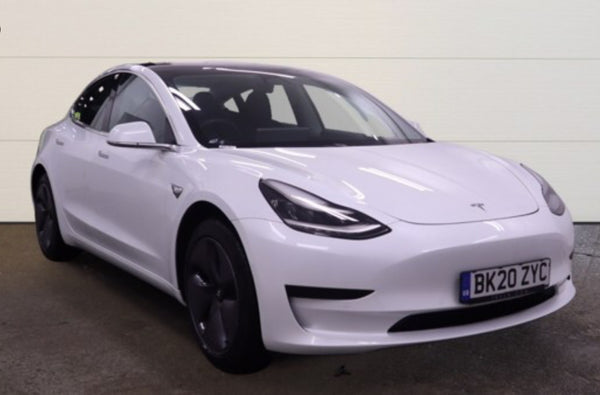 Tesla Model 3 0 Standard Plus White 2020