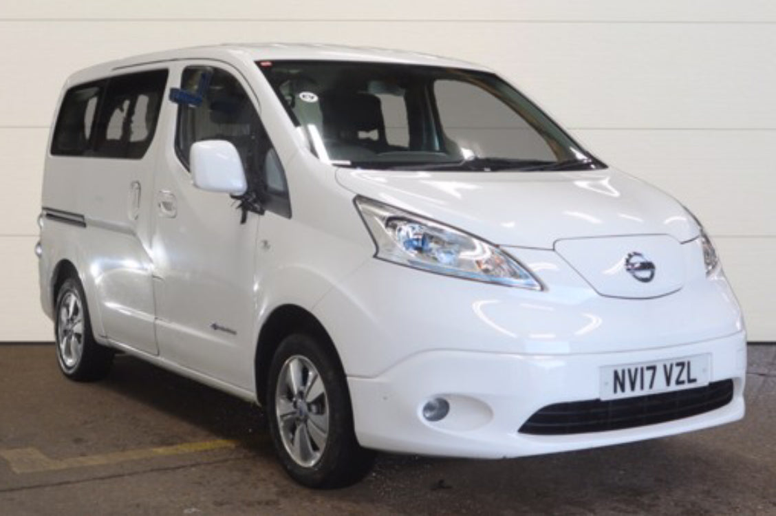 Nissan E-NV200 EVALIA 0 TEKNA RAPID PLUS 7 SEAT ELECTRIC White 5d 2017