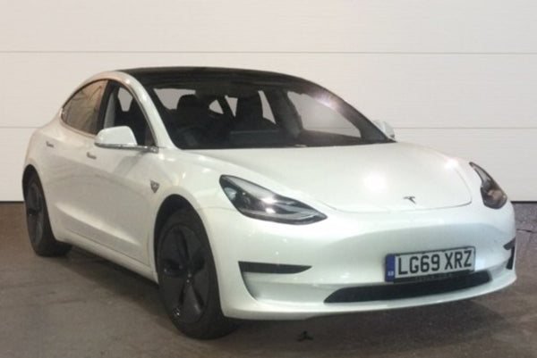 Tesla Model 3 0 Standard Plus White 5d 2019 LG69 XRZ