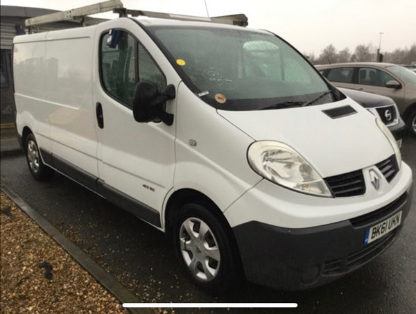 Renault Trafic 2.9T 2.0 LL29DCI 115 PanelVan White 2011