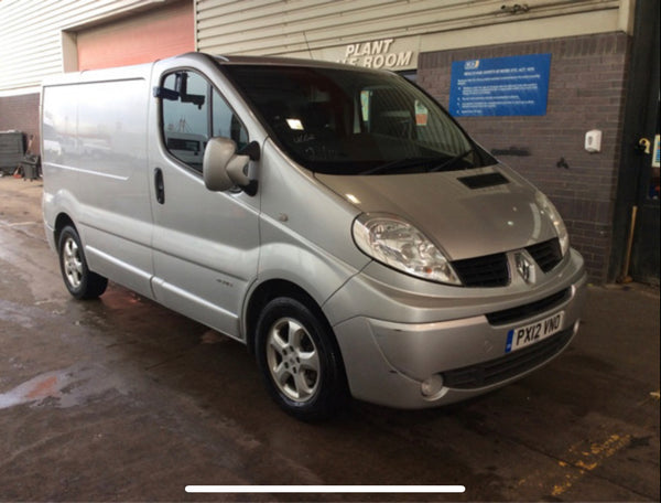 Renault Trafic 2.7T 2.0 SL27DCI 115 SPORT PanelVan Silver 2012