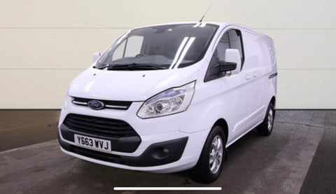 Ford Transit Custom 2.2 TDCI 125 270 SWB LIMITED PanelVan White 2014