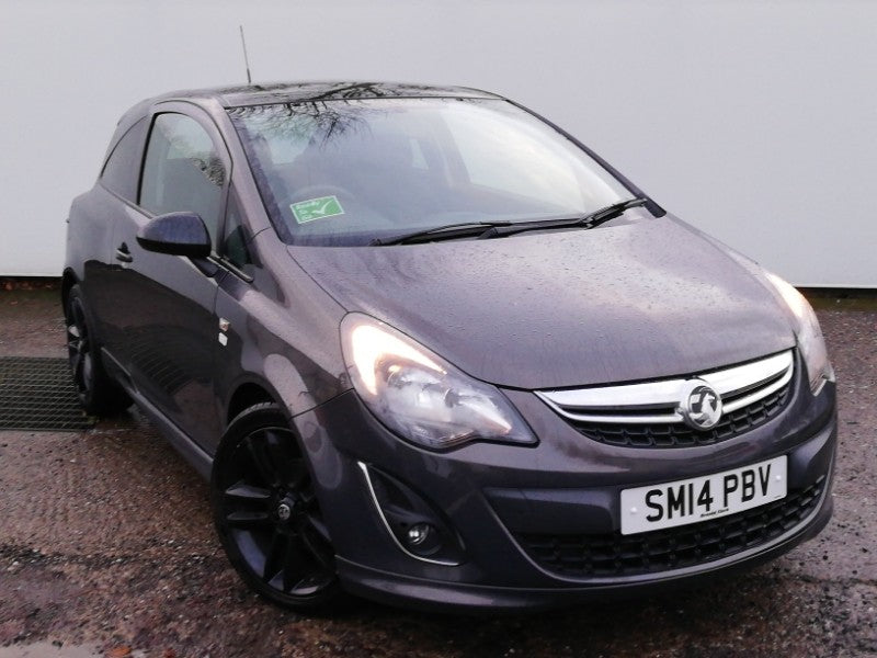 Vauxhall Corsa Limited Edition 1.2 Grey 3dr 2014