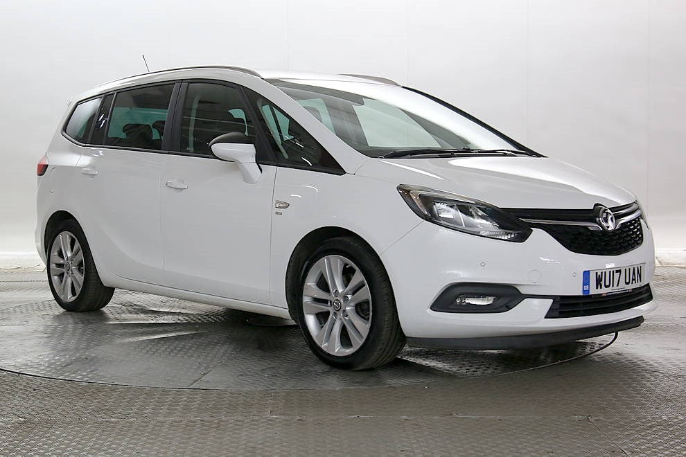 Vauxhall Zafira Tourer 1.4i 16v Turbo (140ps) SRi MPV 5d White 2017