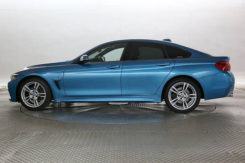 BMW 4 Series 420d M Sport Blue 5d 2018