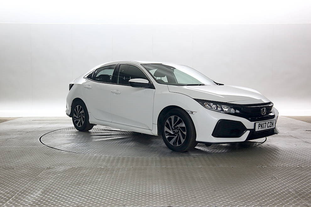 Honda Civic VTEC TURBO 1.0 White 5d 2017