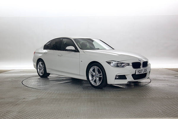 BMW 3 Series 2.0 M Sport Saloon 4d White 2017