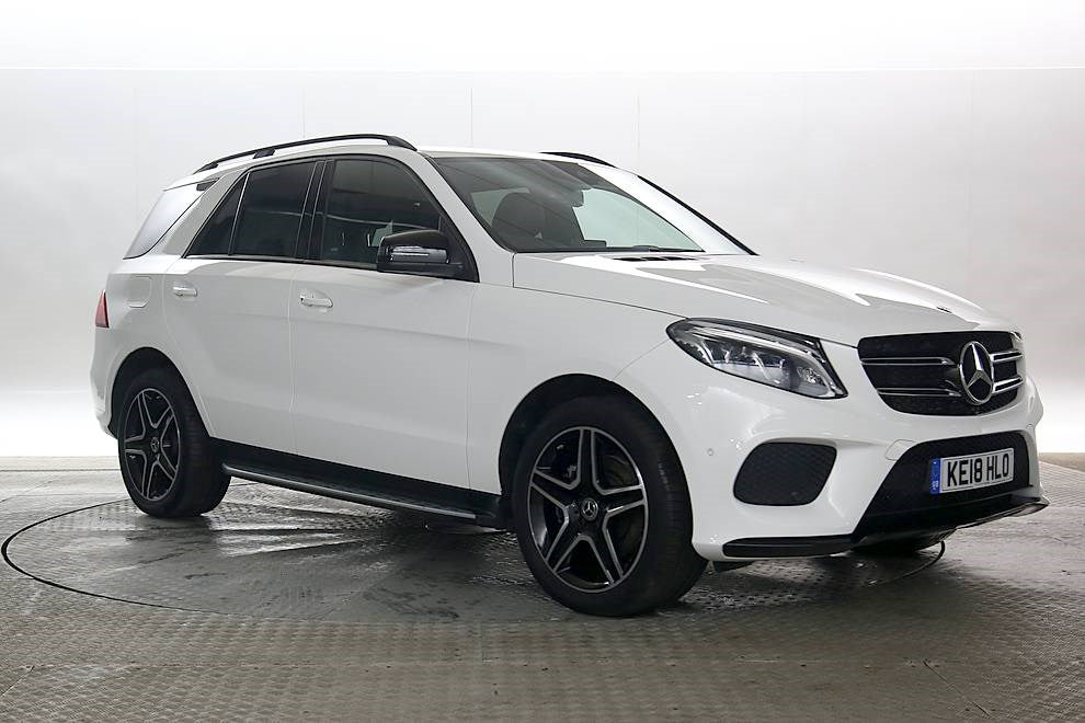 Mercedes-Benz GLE 2.1 White 5d 2018