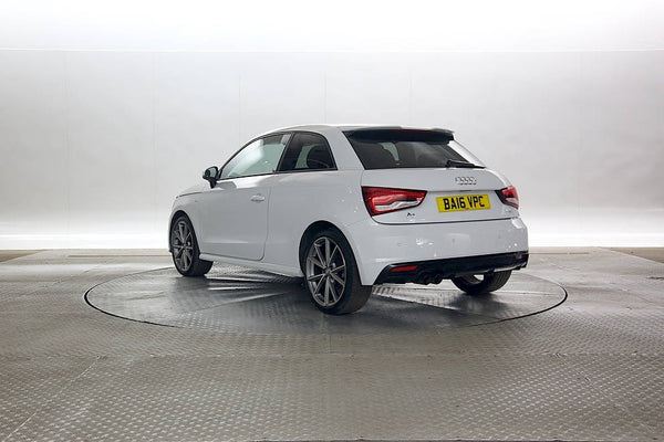 Audi A1 Hatchback 1.4 Black Edition 3d White  2016