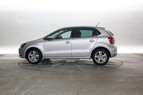 Volkswagen Polo 1.0 (75ps) Match Edition (s/s) Hatchback 5d Silver 2017