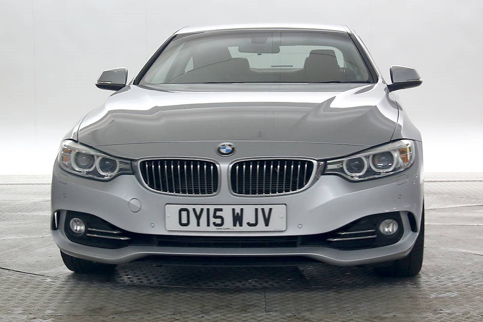 BMW 430D 3.0 Luxury Silver 3d OY15 WJV