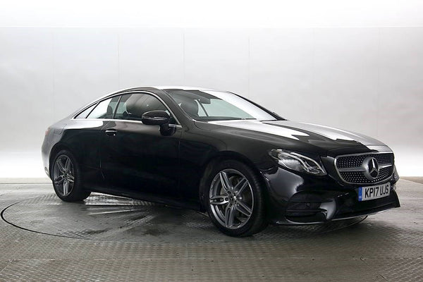 Mercedes-Benz E220 2.0 Black 3d 2017