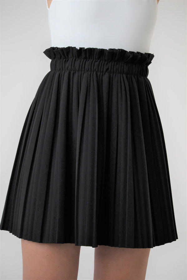 HIGH WAISTED PLEATED SKIRT - Skirt - Shop at Le Tré