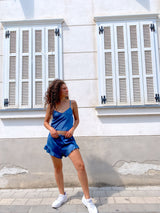 CAMI SATIN TOP WITH MATCH SHORT - Set - Shop Fashion at LE TRÉ