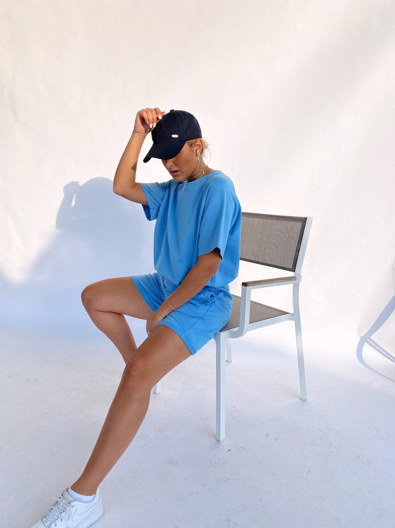 OVERSIZED T SHIRT WITH MATCHING SHORT