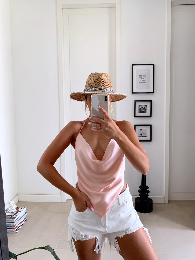 PALERMO TOP IN PINK