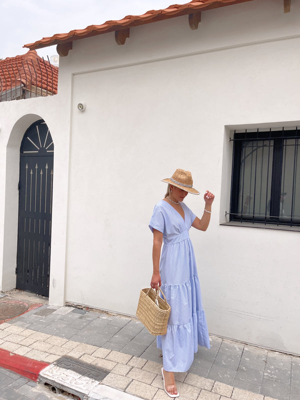 MAXI DRESS IN  STRIPE