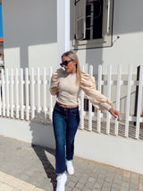 JEANS WITH SIDE SPLITS - Jeans - Shop Fashion at LE TRÉ
