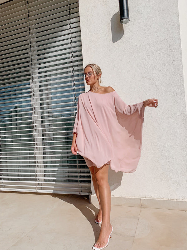OVERSIZED MINI DRESS WITH LONG SLEEVE Top LE TRÉ