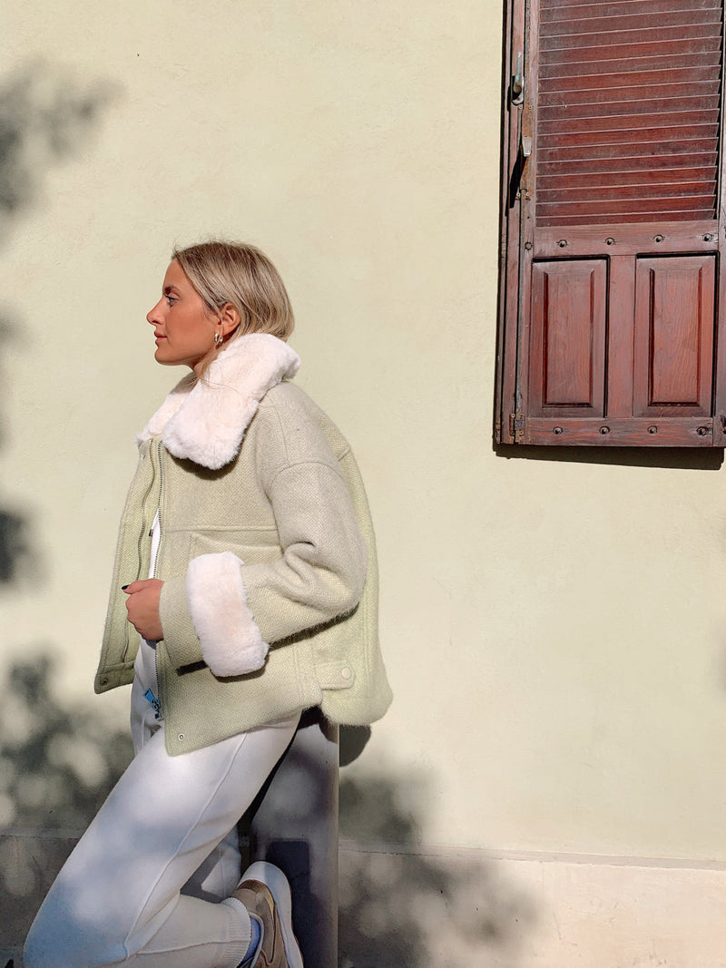 PASTEL MINT COAT - Coats & Jackets - Shop Fashion at LE TRÉ