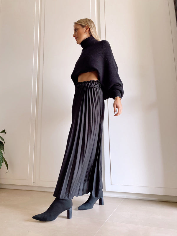 PLEATED MAXI SKIRT Skirt LE TRÉ