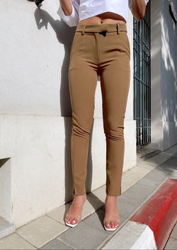 TAILORED CIGARETTE TROUSERS - Trousers - Shop Fashion at LE TRÉ