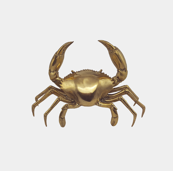 Bentley Brass Small Crab