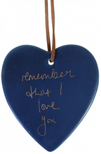 Load image into Gallery viewer, Ceramic Hanging Heart