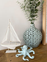Load image into Gallery viewer, Seafoam Ceramic Octopus Home Decor