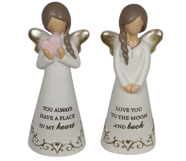 Set of 2 Angel Ornaments