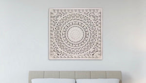 Clove Mandala Lattice Wall Plaque