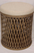 Load image into Gallery viewer, Rameria Rattan Storage Stool
