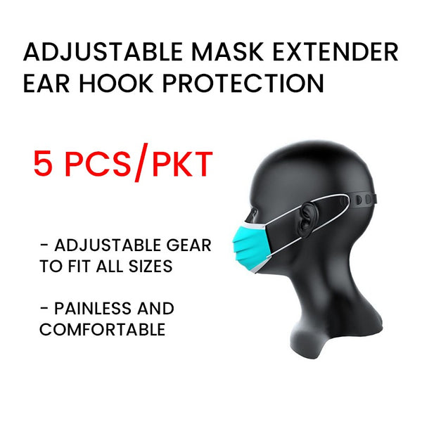 ProShield Ear Strap Face Mask Extension Ear Hook (5pcs/pack)