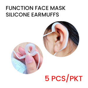 Functional Face Mask Silicone Ear Guard (5pairs/pack)