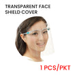 PRE-ORDER Transparent Face Shield Cover with Specs (1pc/pack)