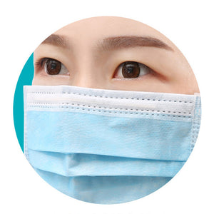 Package A: Disposable 3 Layered Surgical Mask