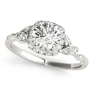 Only $137/mo GIA certified 0.80ct I-VS2 vintage diamond ring